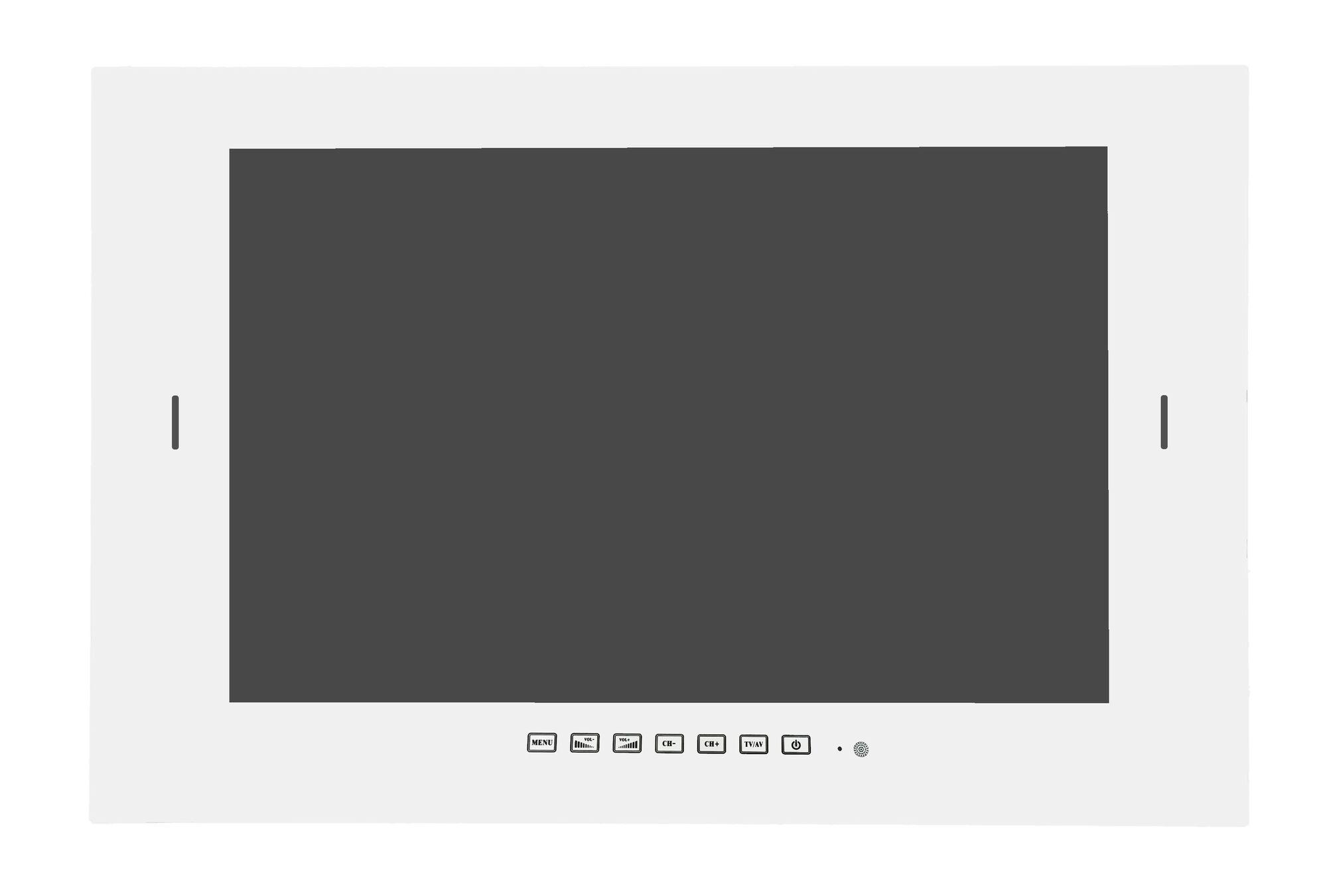 Waterdichte LED TV 32 inch met DVB-S2 & DVB-C tuner, wit - SV51