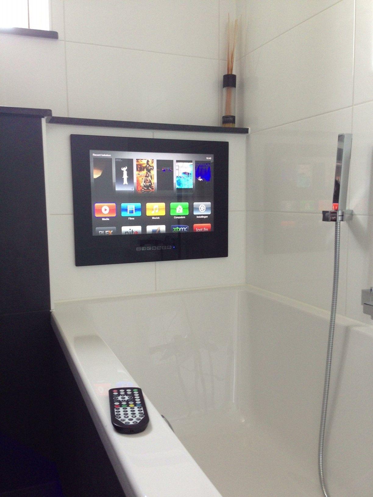 badkamer televisie 17 inch met dvb c tuner. Black Bedroom Furniture Sets. Home Design Ideas