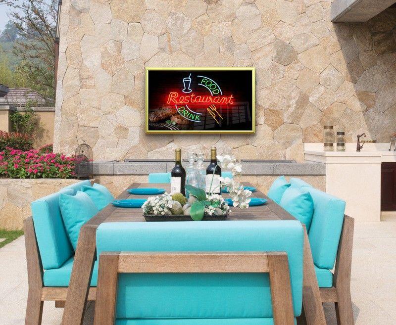 garten tv tv f r den aussenbereich outdoor tv. Black Bedroom Furniture Sets. Home Design Ideas