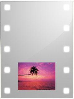 Spiegel met LED