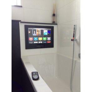 Badezimmer Fernseher schwarz 17 Zoll mit DVB-C Tuner