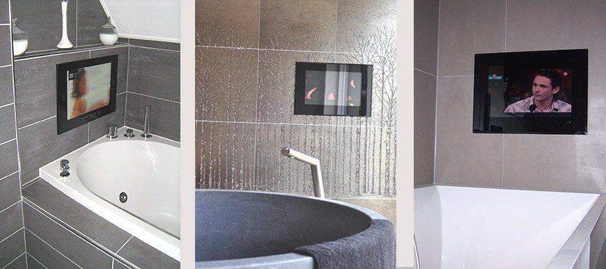 SplashVision: Ihr Spezialist Für Badezimmer TV Und Audio